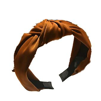 3PCS  Solid Colors Hairband Knotted Hair Band for Women Headbands Hairbands Satin Cross Knot Hair