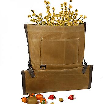 Evago Evago Fruits Picking Bag Waterproof Fruit Storage Apron Pouch For Outdoor Orchard, Farm, Garden, Heavy Duty And Ajustable You Can Hang It Up