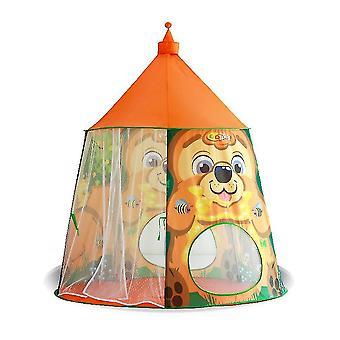 키즈 놀이 텐트 실내 오션 볼 풀 공주 방 올빼미 성 장난감 키즈 텐트 하우스 오렌지