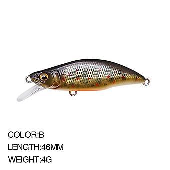 Japanin kuuma malli uppoaa minnow kalastus houkuttelee 52mm 4.5g basso hauki carkbait wobblers swimbait ammatillinen kova syötti