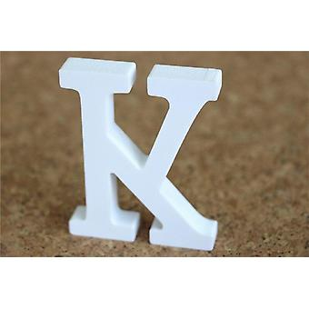 Diy Freestanding Wooden Letters, White Alphabet Home Decorations