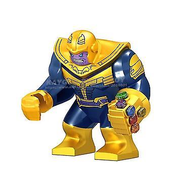 Figuren große Figuren Baustein Superheld Thanos Hulk Eisen Spiderman Batman