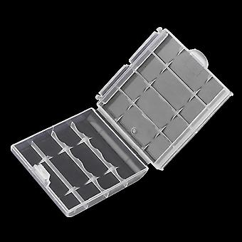 Hard Plastic 18650 Battery Storage Box Case Holder