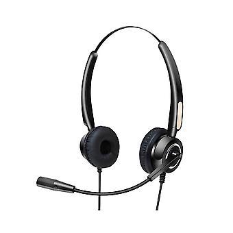 Headphones with Microphone Urban Factory HBV01UF  Black