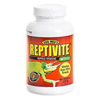 حديقة ميد ريبتيفيت فيتامينات الزواحف مع D3 - 8 أوقية