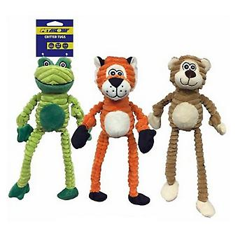 Petsport Critter Tug Dog Toy - 1 Pack (Assorted Styles)