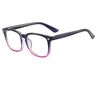 نظارات الكمبيوتر حماية العين نظارات مسطحة الأرجواني