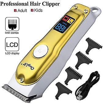 Hair clippers trimmers professional hair clipper men's barber beard trimmer carbon steel blade 2 speed shaving cutting