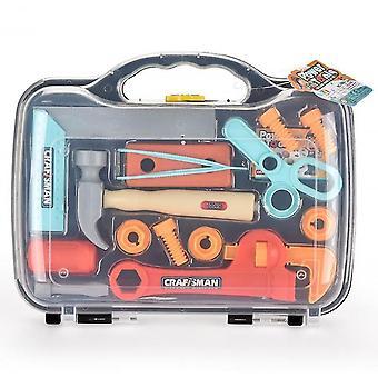 Набор инструментов для детей, строительный набор для игры, образовательная строительная конструкция