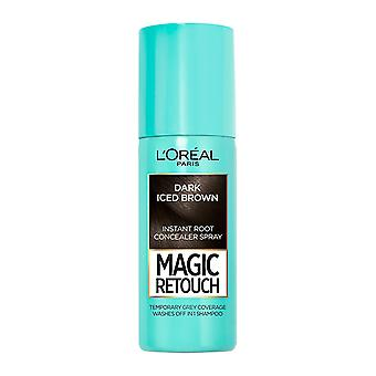 L'Oréal Paris Magic Retouch Temporary Instant Root Concealer Spray 75ml - Dark Iced Brown