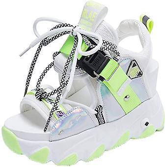 Ladies Beach Breathable Lightweight Casual Platform Non-slip Sandals