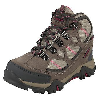 Boys Junior Hi-Tec Waterproof Walking Boots Renegade Trail WP JR