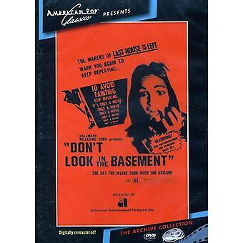 Ne regardez pas dans l'importation USA [DVD] (1973) de sous-sol