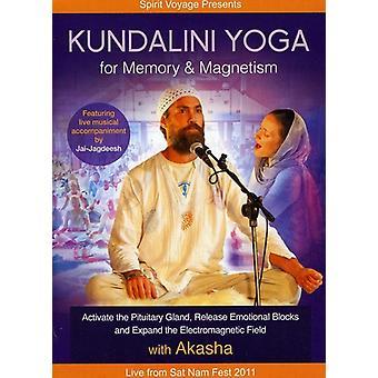 Kundalini Yoga pour les USA de mémoire & magnétisme [DVD] import