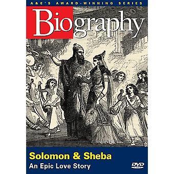 Salomón y Sheba [DVD] los E.e.u.u. la importación