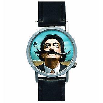 Dali overskæg armbåndsur Salvador Dali kunst skæg watch