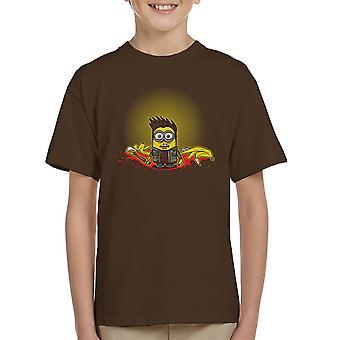Mark Of Minion Supernatural Minions Kid's T-Shirt