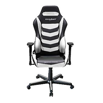 DX Racer DXRacer Drifting Series OH/DM166/NW High-Back Office Chair Gaming Chair Guest Chair(Black/White)