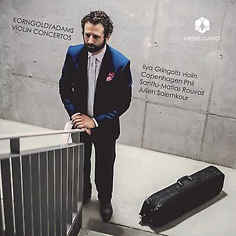Adams / Korngold / Gringolts / Phil / Rouvali - Korngold & Adams: Violin Concertos [CD] USA import