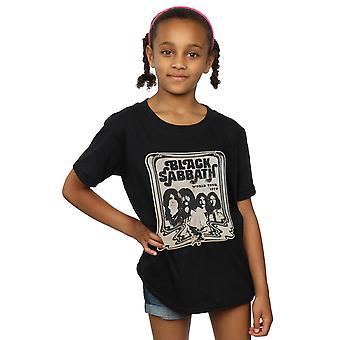 Black Sabbath flickor världen Tour T-Shirt