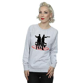 Supernatural Women's Sam And Dean Silhouette Sweatshirt