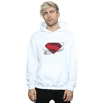 DC Comics Männer Justice League-Film Superman Logo Hoodie