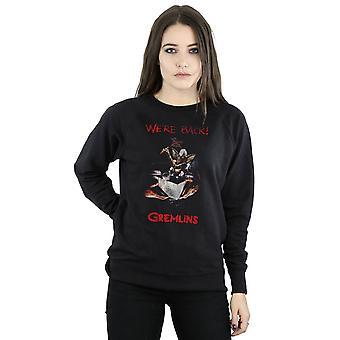 Gremlins Women's Spike Distressed Poster Sweatshirt