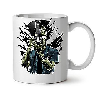 Dead Photographer Zombie NEW White Tea Coffee Ceramic Mug 11 oz | Wellcoda