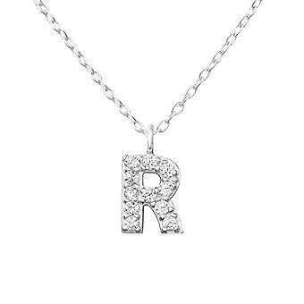 """r"" - 925 sterlinghopea Jewelled kaulakorut - W36370x"