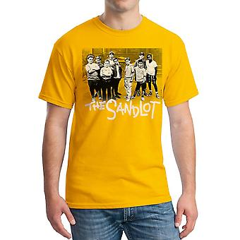 Sandlot Team Men's Gold T-shirt