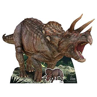 Triceratops Dinosaur Natural History Museum Cardboard Cutout / Standee