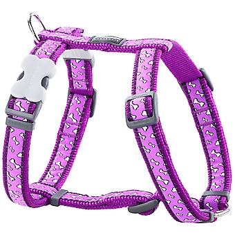 Red Dingo Petral Rd Style Flying Bones (Dogs , Collars, Leads and Harnesses , Harnesses)