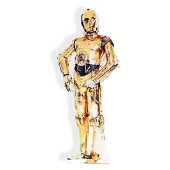 Star Wars C-3PO Pappausschnitt