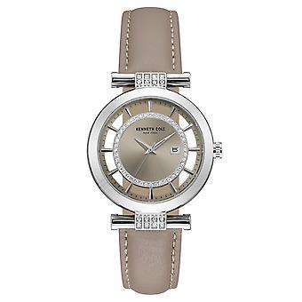 Kenneth Cole Nowy Jork kobiety nadgarstka zegarek analogowy, kwarcowy skórzane 10021104