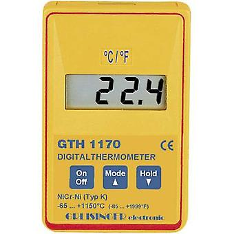Greisinger GTH 1170 Digital Precision Quick Response Thermometer -65 to +1150 °C