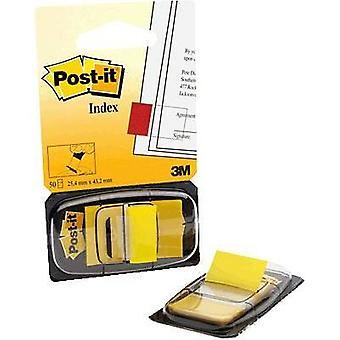 Post-it Adhesive strip dispenser Index 680-5 Adhesive tag colour: Yellow 7000029860