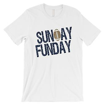 FUNDAY الأحد تي شيرت رجالي لوس أنجليس لوس أنجليس اليوم لعبة مضحك قميص المحملة