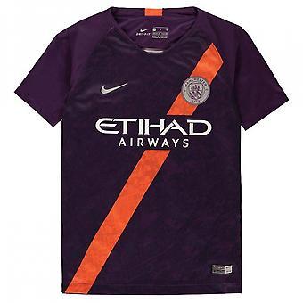 2018-2019 Man City Third Nike Football Shirt (Kids)