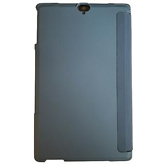 Executive Accessoires Folio Case & Tempered Glass Poetic Full-Body Heavy Duty Shockproof Protective Ingebouwde screenprotectorbundel voor Ellipsis 8 HD - Phoenix Blue