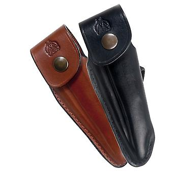 Shaped leather sheath for Laguiole - Color - Brown Direct from France