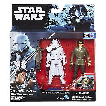 Star Wars Force budzi Poe Dameron & pierwszej kolejności szturmowiec śnieżny Deluxe Pack