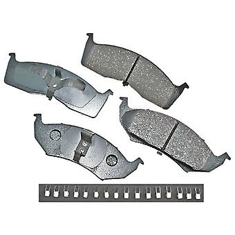 Akebono ACT730A ProACT Ultra-Premium Ceramic Front Brake Pad Set For 1995-2005 Dodge or Plymouth Neon