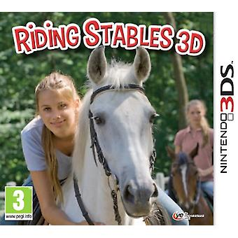 Riding Stables 3D (Nintendo 3DS) - New