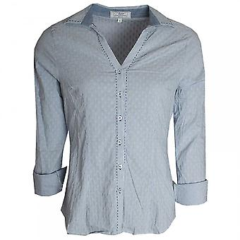 Vlt's By Valentina's Textured Fabric Stretch Cotton Shirt