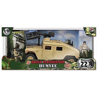 World Peacekeepers Humvee with rocket launcher
