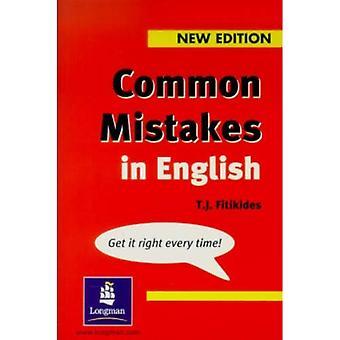 Vanliga misstag i engelska (grammatik Practice)