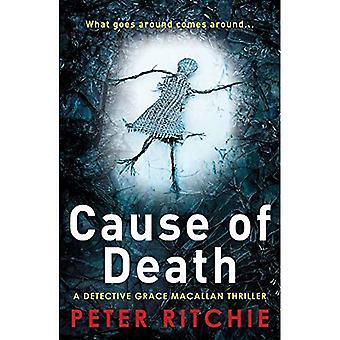 Cause du décès (détective Grace Macallan Crime Thriller série)