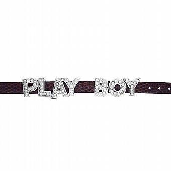 Fun Braclet w/ Letter Play Boy On Watch Strap Stunning Bracelet