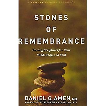 Stones of Remembrance: Healing Scriptures for Your� Mind, Body, and Soul