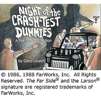 Night of the Crash-Test Dummies by Gary Larson - 9780836220490 Book